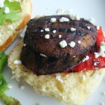 Balsamic Portobello Mushroom Burgers