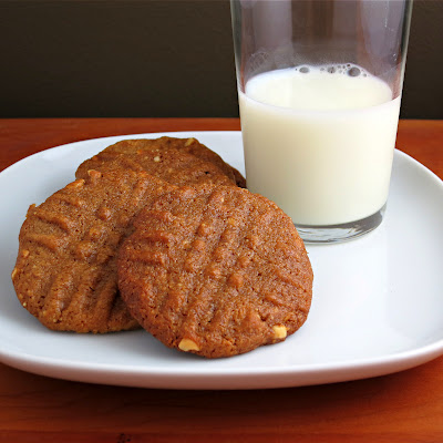 three ingredient gluten free peanut butter cookies without flour