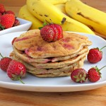 Strawberry Banana Pancakes