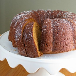 Pumpkin Bundt Cake from Alida's Kitchen