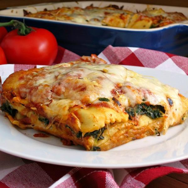 Easy Ravioli Lasagna