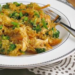Buffalo Chicken Quinoa Salad | alidaskitchen.com