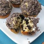 Oreo Cookies and Cream Muffins