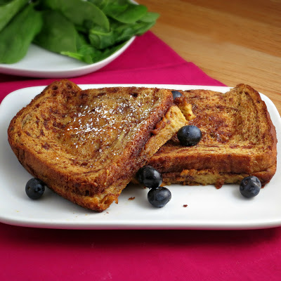 baked cinnamon french toast from Alida's Kitchen