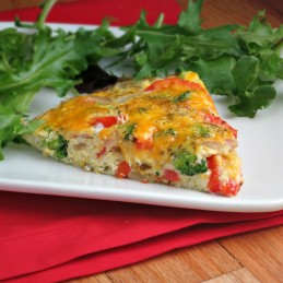 easy vegetable frittata