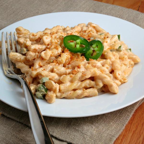 Jalapeno Popper Pasta from alidaskitchen.com