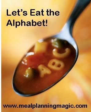 Eating Alphabet