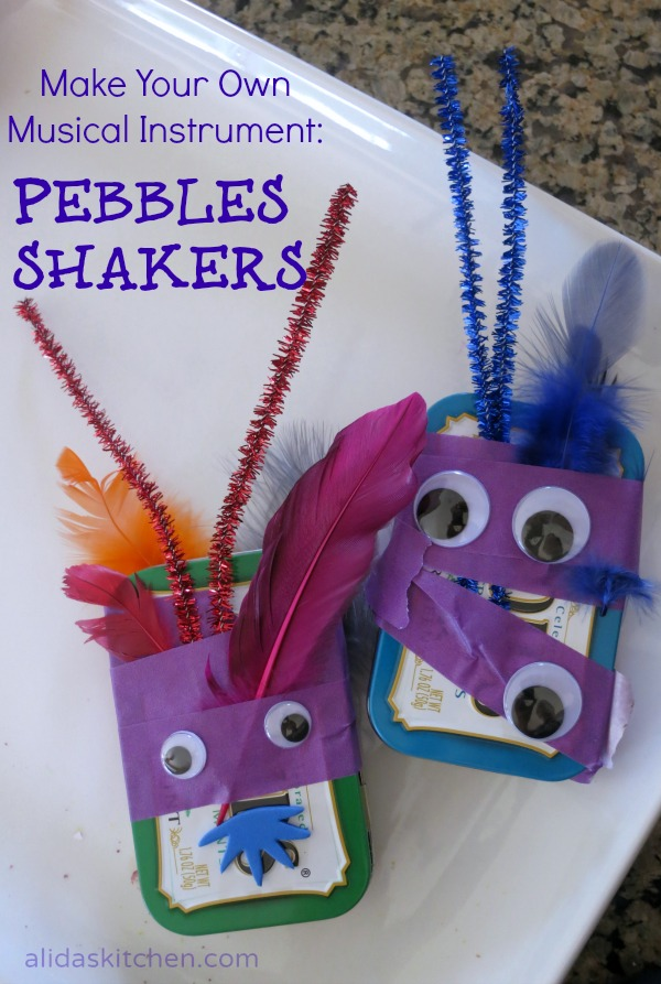 DIY Pebbles Shakers - a fun project for kids! {alidaskitchen.com}