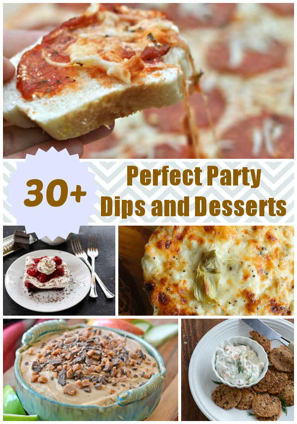 Over 30 Perfect Party Dips and Desserts | alidaskitchen.com