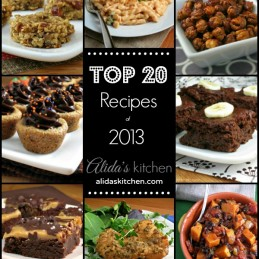 Top 20 Recipes of 2013 on alidaskitchen.com