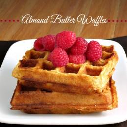 Almond Butter Waffles | alidaskitchen.com