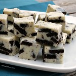 Oreo Cookies and Cream Fudge #SundaySupper