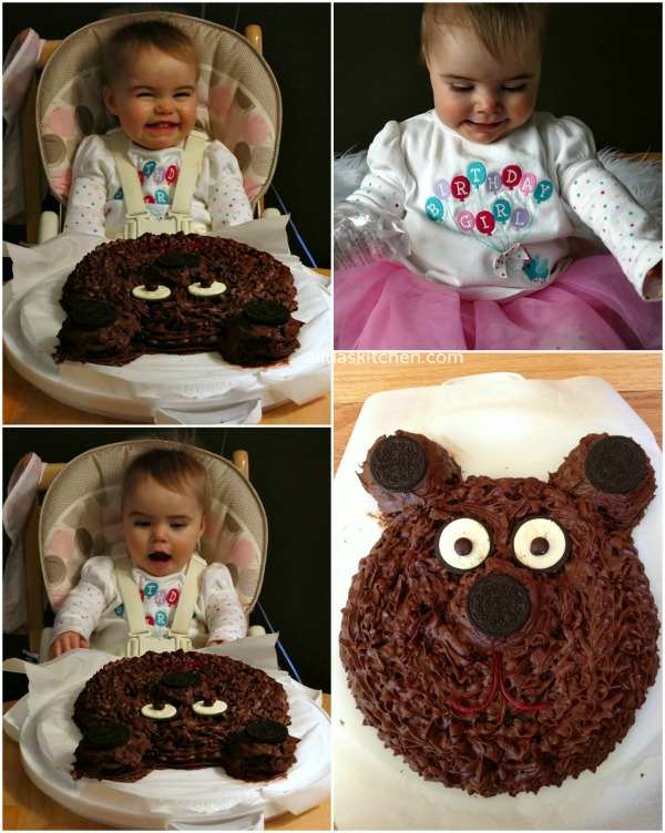 Bear Cake | Alida's Kitchen