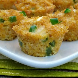 Jalapeno Popper Quinoa Bites - Alida's Kitchen #recipes #SundaySupper #ChooseDreams