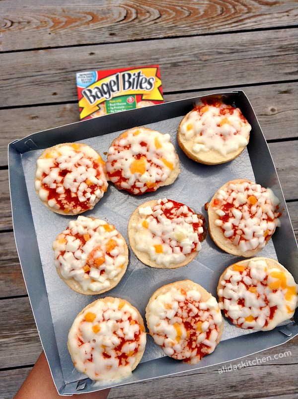 After School Snacking with Bagel Bites | alidaskitchen.com