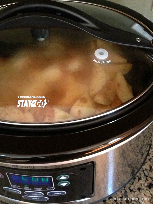 Slow Cooker Applesauce with No Added Sugar   alidaskitchen.com