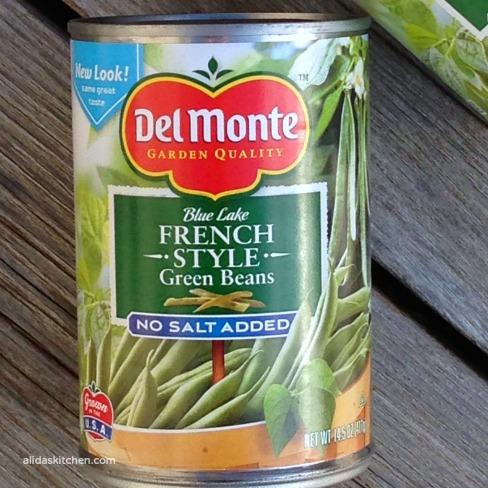 Cheesy Green Bean Casserole | alidaskitchen.com #recipes