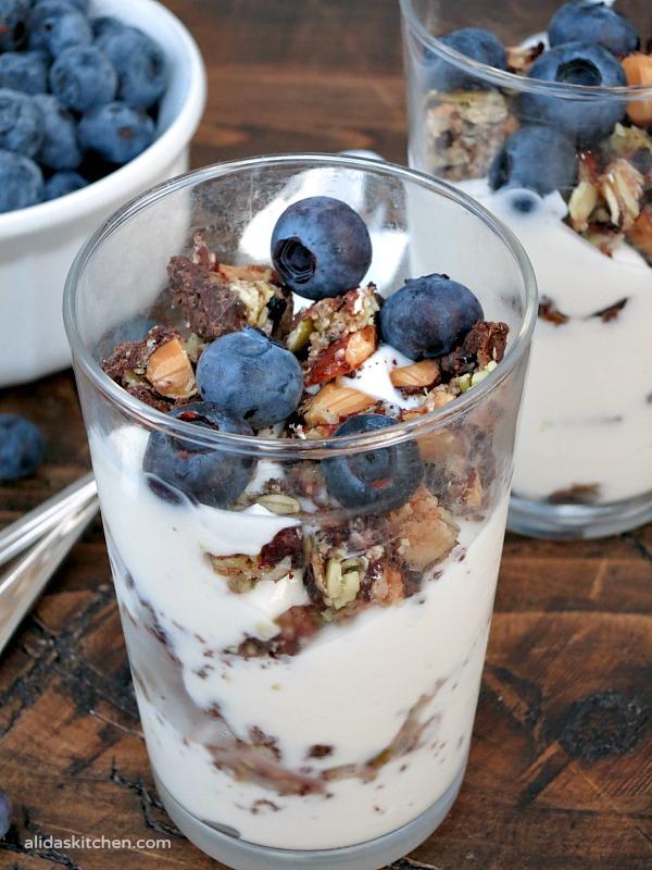 Easy Fruit & Nut Parfait   alidaskitchen.com