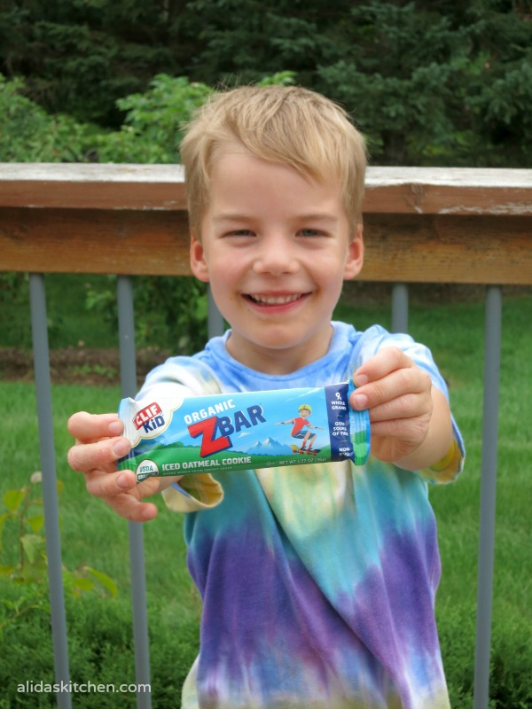 Active Kids with Clif Kid®! - alidaskitchen.com