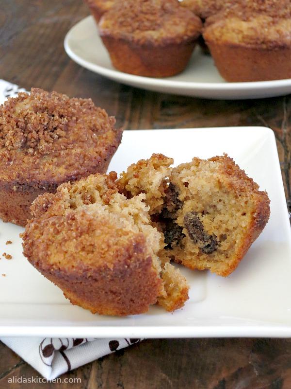 Cinnamon Oatmeal Muffins | alidaskitchen.com