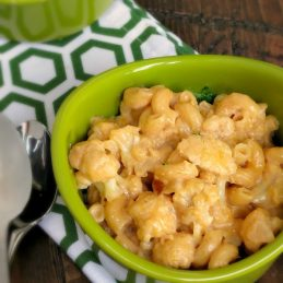 Stove Top Cauliflower Mac and Cheese | alidaskitchen.com